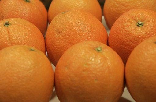 Orangen für Menschenrechte