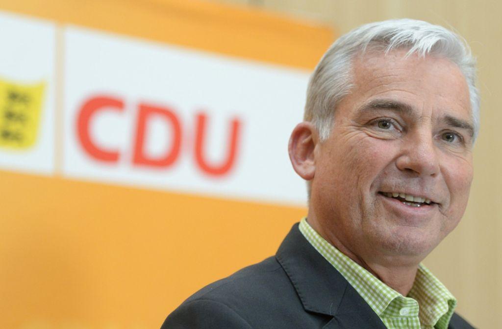 Thomas Strobl muss in diesen Tagen bei den CDU-Mitgliedern ordentlich die Werbetrommel für die grün-schwarze Koalition rühren. Foto: dpa