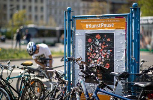 Würzburg zeigt  Museumskunst auf Plakatwänden