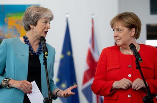 Theresa May besucht auch Merkel in Berlin