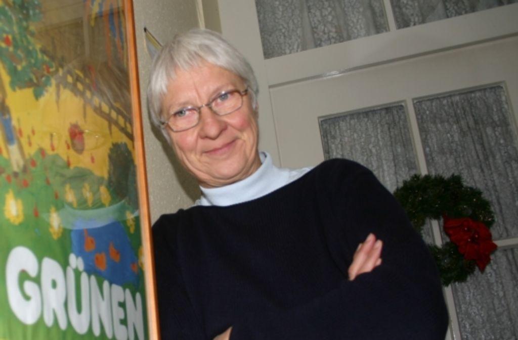 Ursula Marx ist sprachlos. Foto: StZ