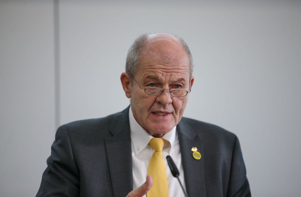 Messe-Chef Ulrich Kromer geht in den Ruhestand. Foto:
