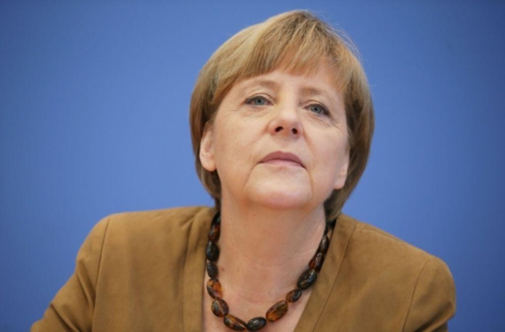 Bundeskanzlerin Angela Merkel verurteilt antisemitische Parolen. Foto: dpa