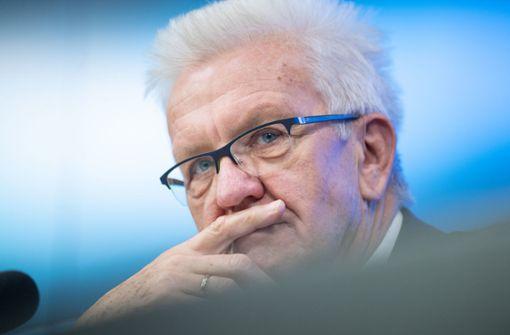 Winfried Kretschmann: War keine erfolgreiche Aktion