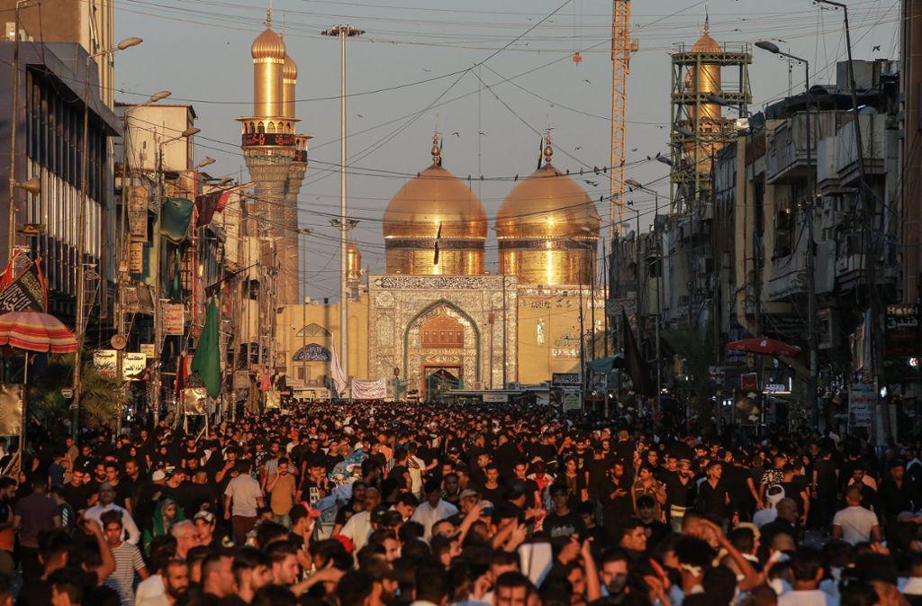 Beim Aschura-Fest ist es am Dienstag zu einer tödlichen Massenpanik gekommen. Foto: dpa