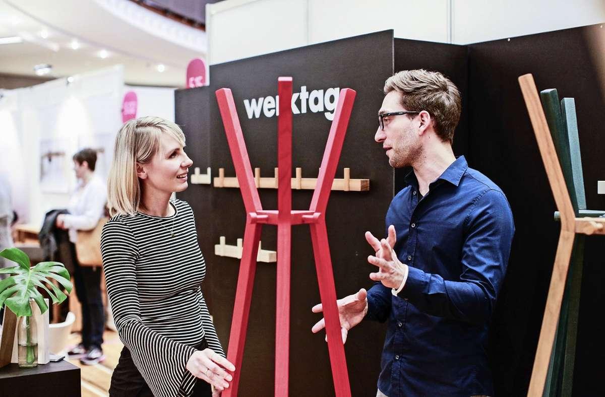 Die Designmesse Blickfang soll Ende Oktober in der Liederhalle stattfinden. Foto: /Steffen Siegrist