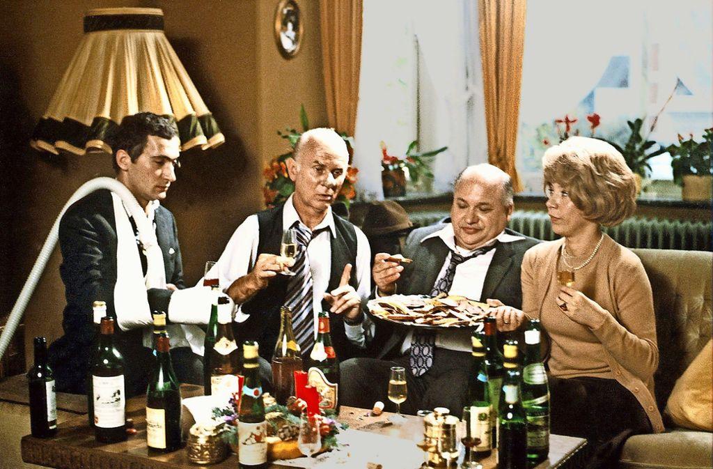 Seltsame Stimmung an den Weihnachtsfeiertagen? Muss nicht sein. Eine Szene aus Loriot: Weihnachten bei Hoppenstedts Foto: WDR