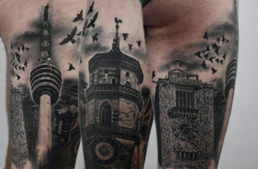 Stuttgart-Tattoos voller Schwabenliebe