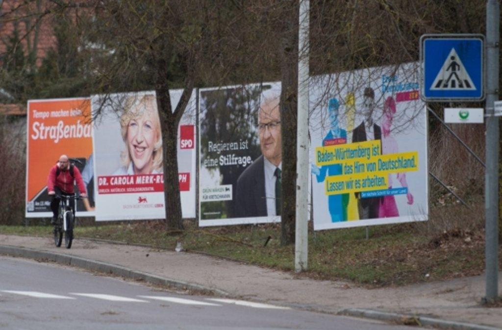 Am kommenden Wochenende ist Landtagswahl in Baden-Württemberg. Foto: dpa