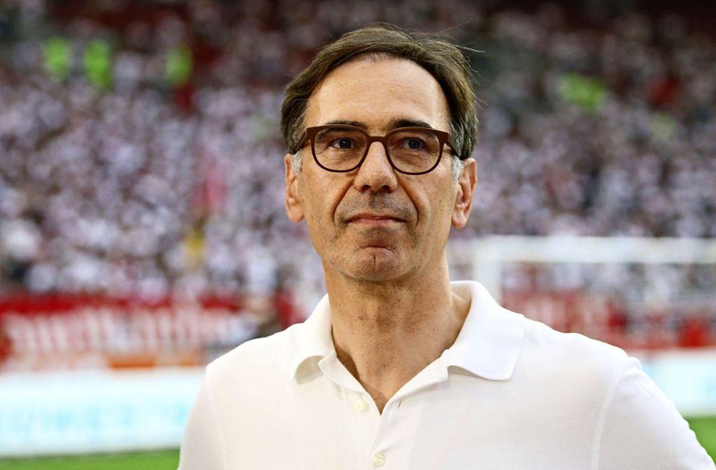 Bernd Gaiser führt den VfB Stuttgart seit Mitte Juli interimsweise als Clubchef an. Foto: Baumann