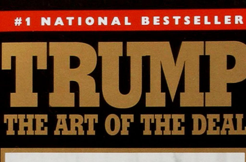 Ein Bestseller: Donald Trumps Lehrbuch aus dem Jahr 1987 Foto: Verlag