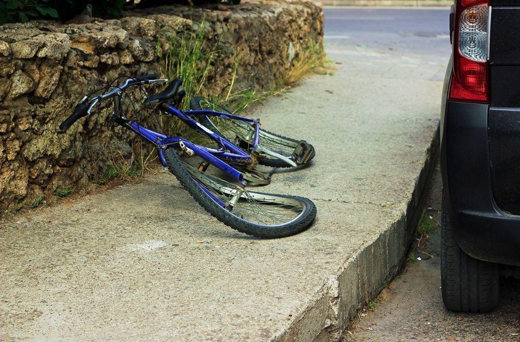 In Schwieberdingen ist es am Donnerstag zu einem Fahrradunfall gekommen. (Symbolbild) Foto: Shutterstock/Lenar Musin