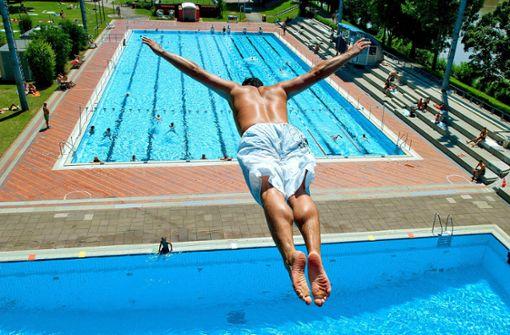 Viel Platz im Schwimmbecken