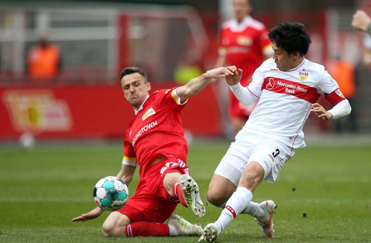 Der VfB Stuttgart hat beim Spiel in Berlin zwei Gesichter gezeigt und mit 1:2 verloren. Foto: Pressefoto Baumann/Cathrin Müller