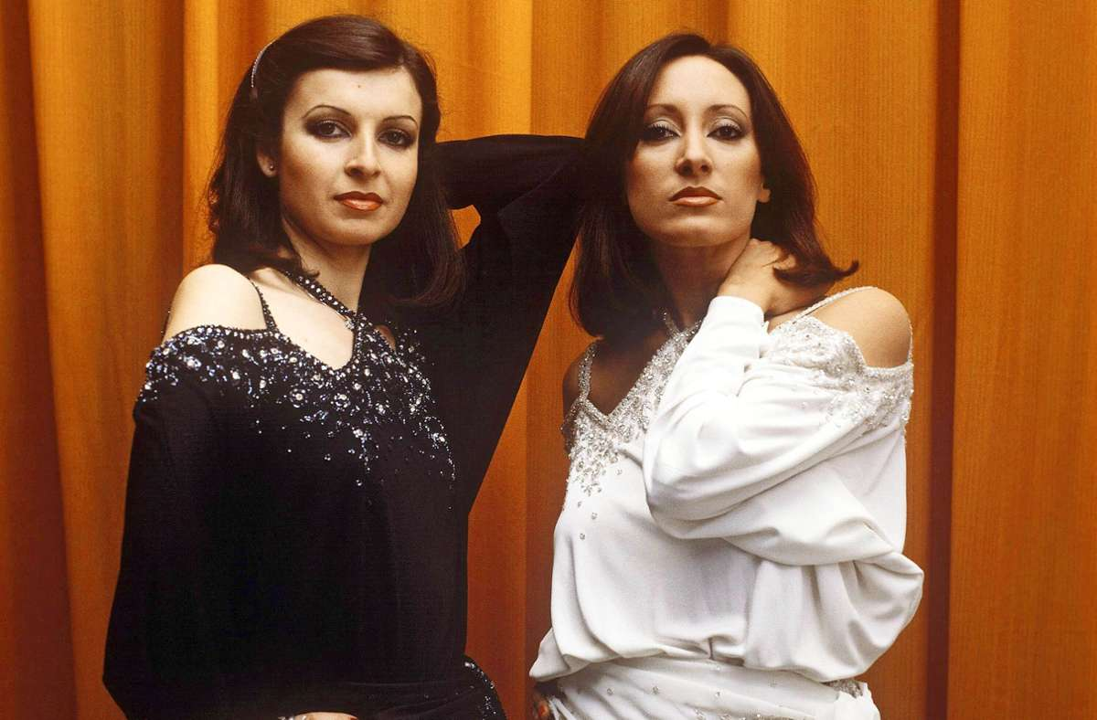 Mayte Mateos und María Mendiola (rechts) im Jahr 1983 Foto: imago/Gueffroy