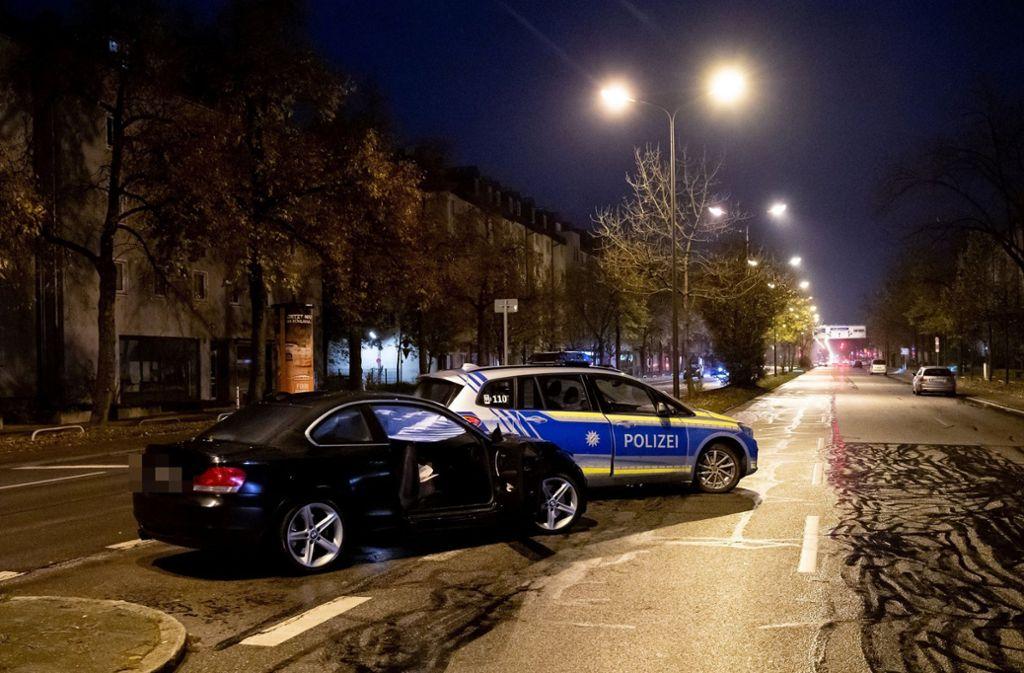 Der 34-Jähriger raste in eine Gruppe Jugendlicher. Foto: dpa/Sven Hoppe