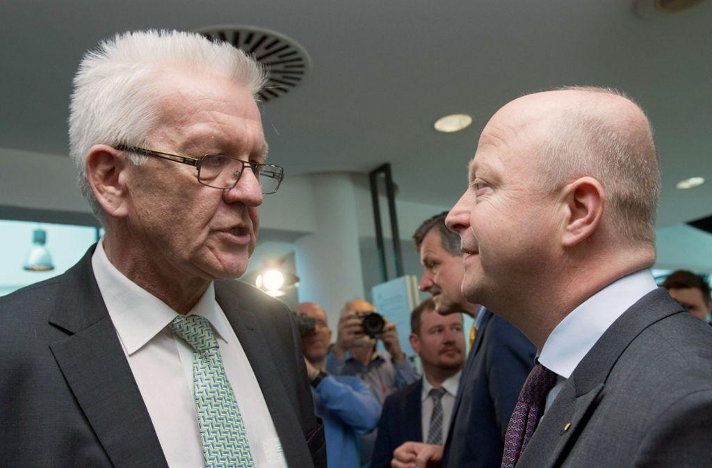 Ministerpräsident Baden Württemberg 2021