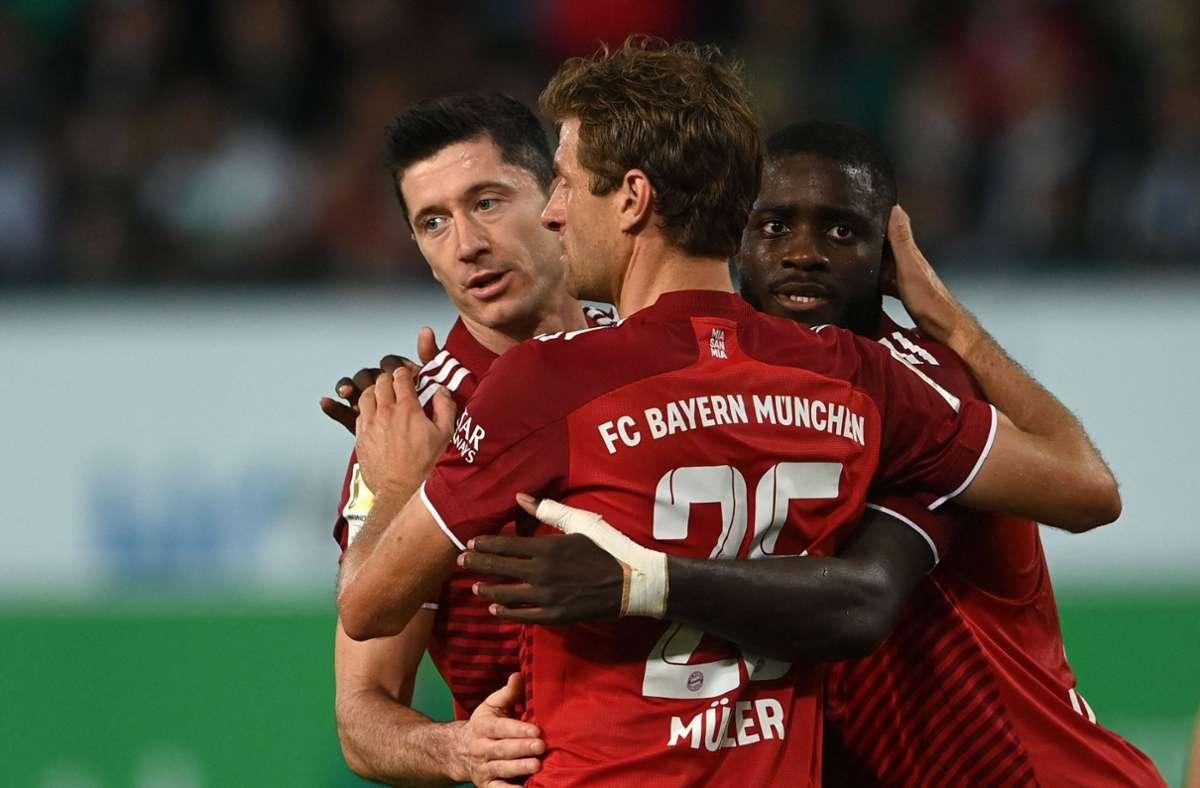 Die Bayern marschieren weiter in der Bundesliga. Foto: AFP/CHRISTOF STACHE