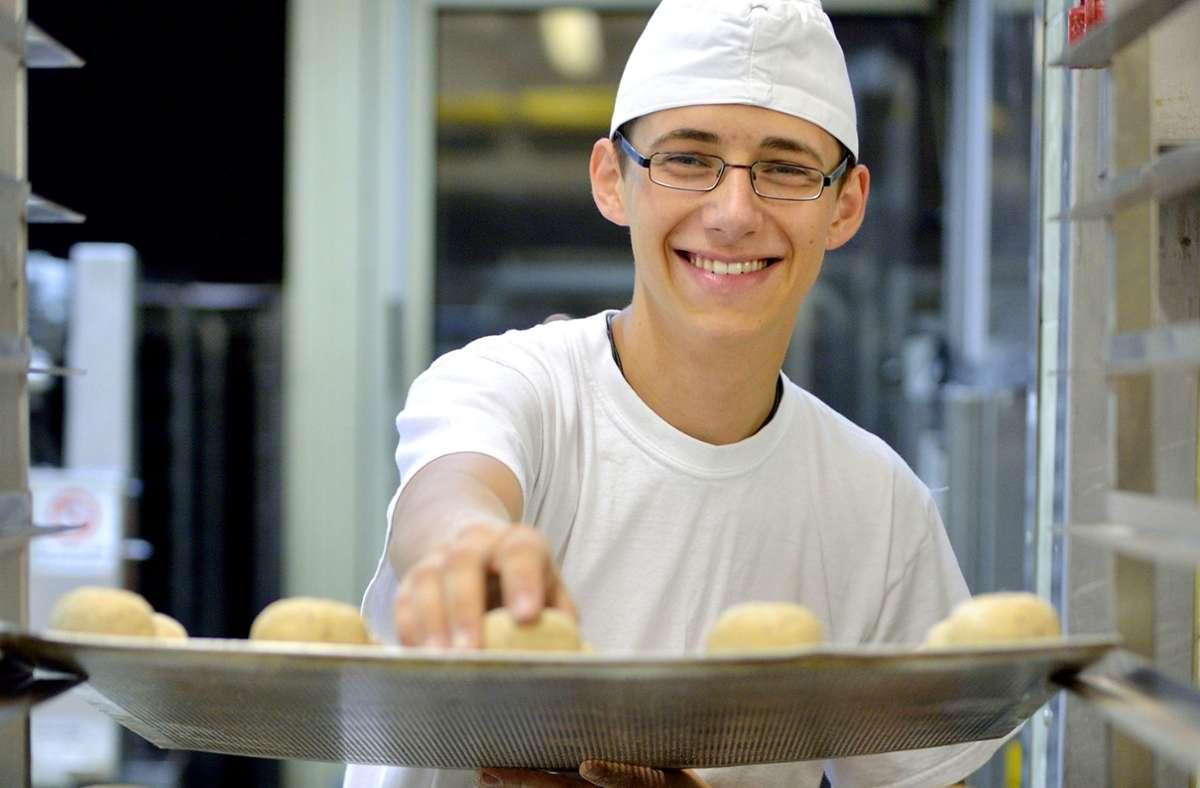 Bäcker haben einen großen Bedarf  an  qualifiziertem Nachwuchs. Foto: argum/Falk Heller