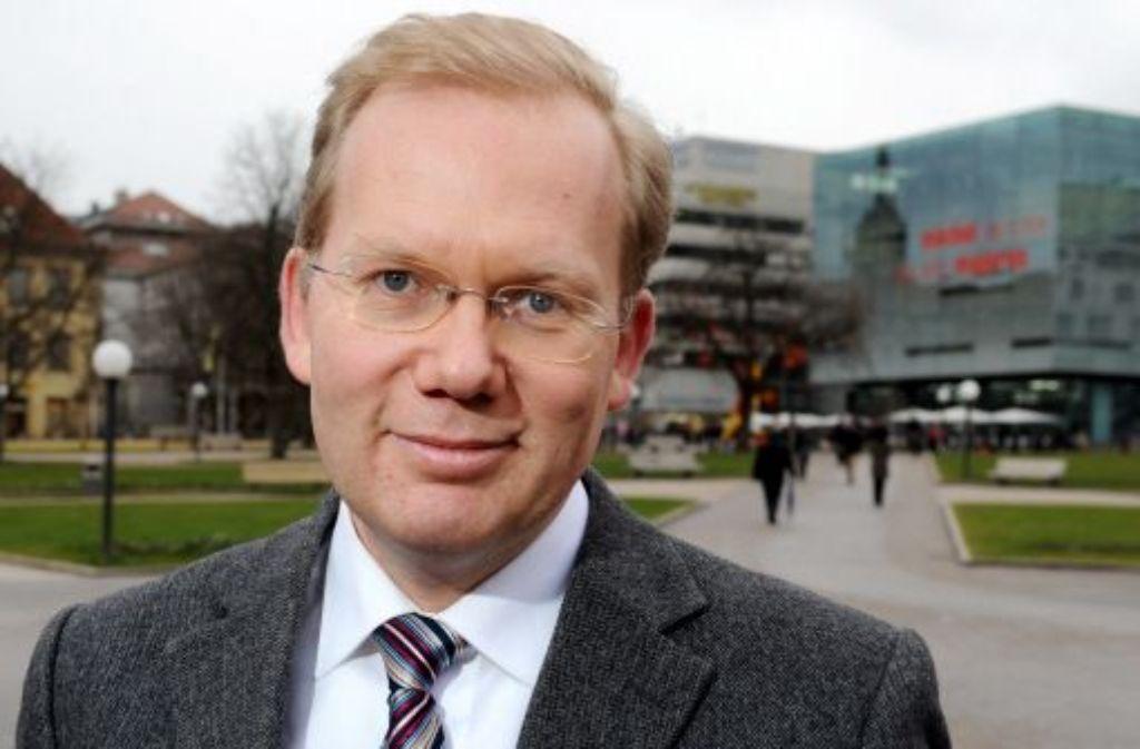 OB-Kandidat der Stuttgarter CDU: Sebastian Turner Foto: dpa