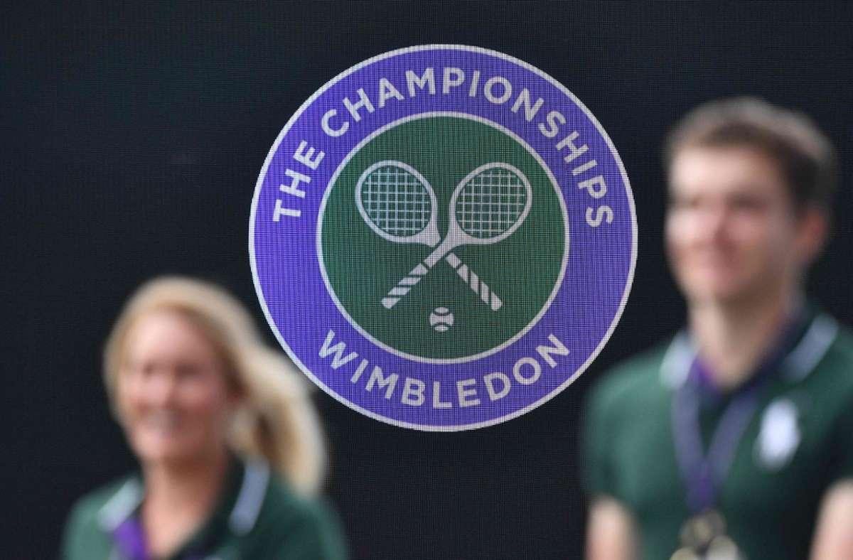 Wimbledon hat dank einer Versicherung kaum finanzielle Schäden durch die Coronakrise genommen. Foto: AFP/DANIEL LEAL-OLIVAS