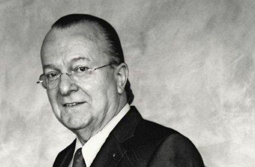 Trauer um  Helmuth H. Bohnenstengel