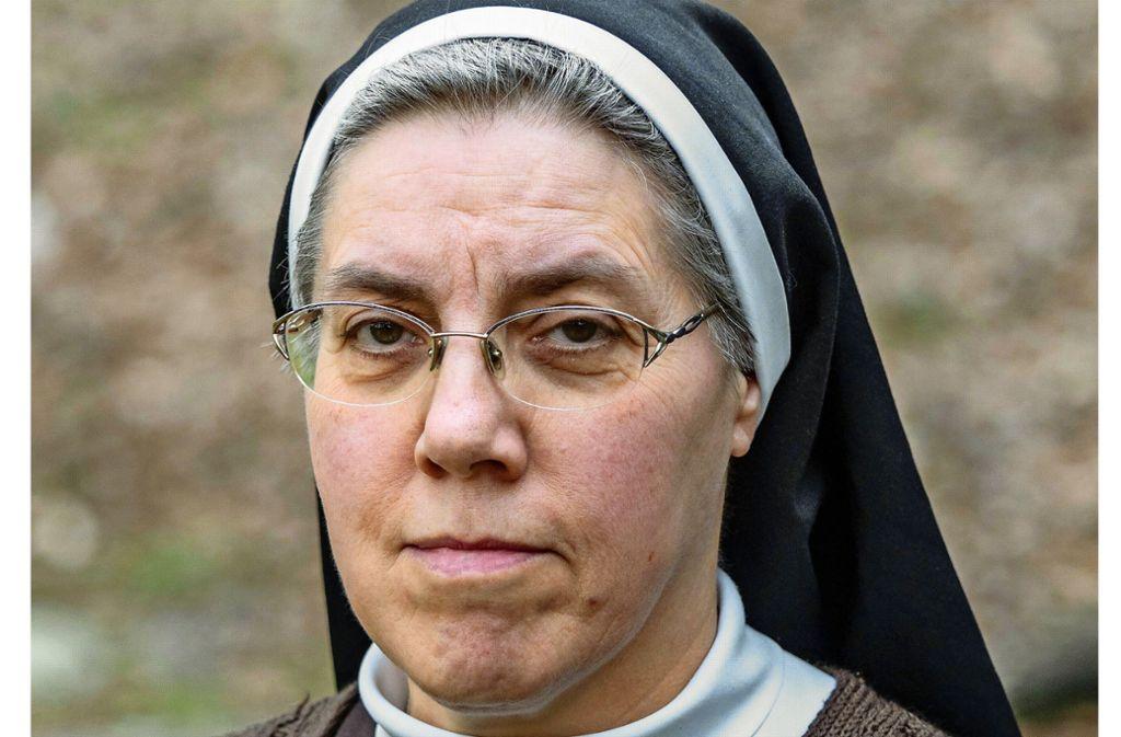 Will die Vorwürfe aufarbeiten: Schwester Edith Riedle Foto: factum/Weise