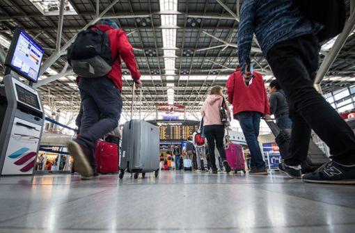 Coronavirus macht auch  dem Flughafen zu schaffen