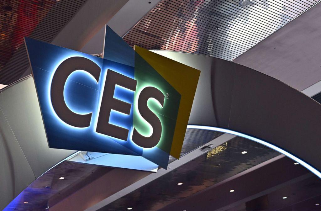 Auf der CES präsentieren Unternehmen die neuesten Technik-Gadgets. Foto: AFP/David Becker
