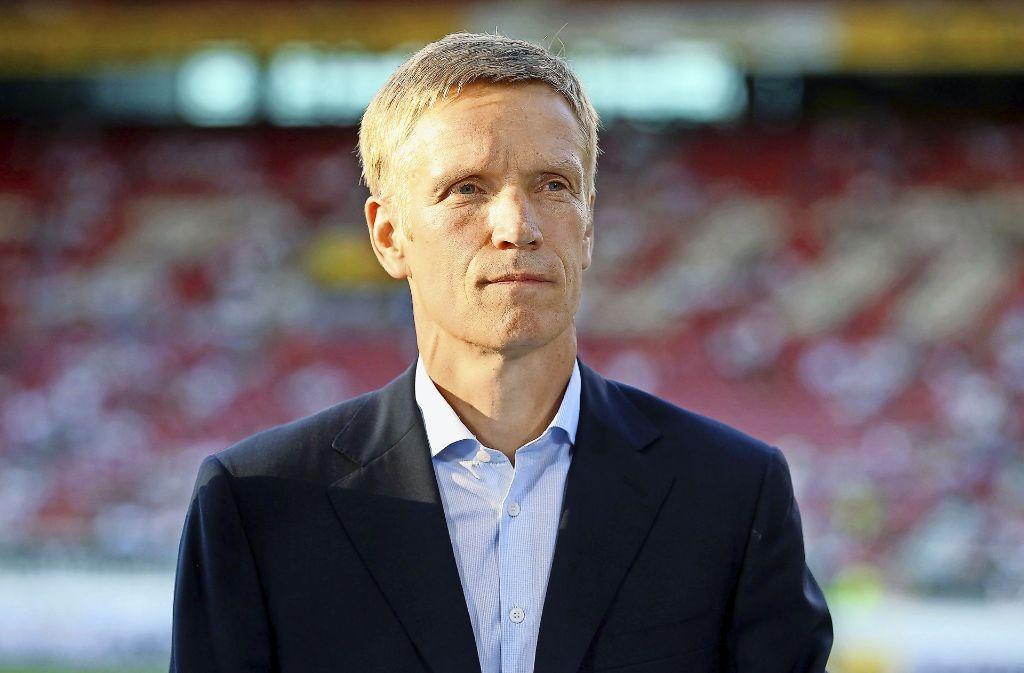 VfB-Manager Jan Schindelmeiser strebt im Fall Großkreutz ein zeitnahe Entscheidung an.Jan Schindelmeiser zeigt sich enttäuscht über den Vorfall. Foto: Getty