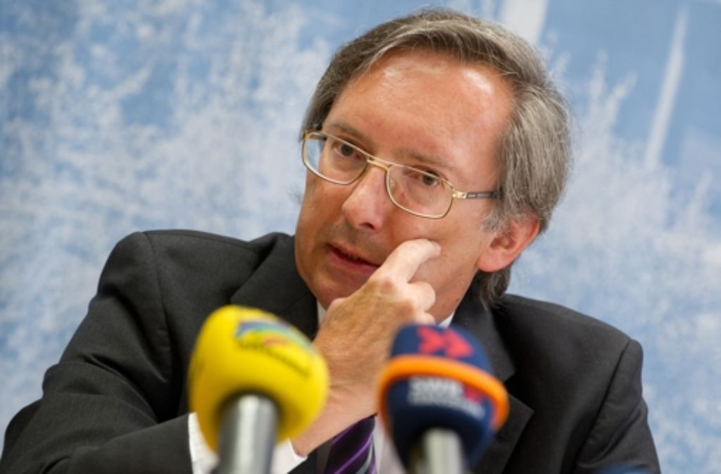Christdemokrat unter Druck: Max Munding, oberster Rechnungsprüfer des Landes, Foto: dpa