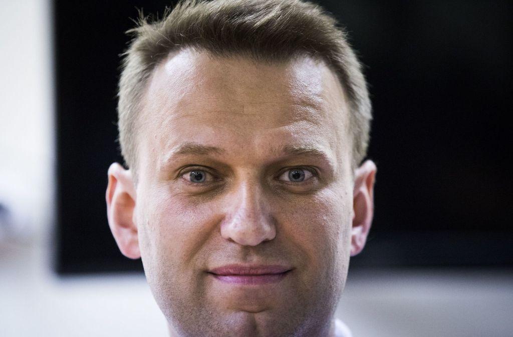 Der Kreml-Kritiker Alexej Nawalny darf nach derzeitigem Stand nicht bei der russischen Präsidentschaftswahl kommendes Jahr antreten. Foto: AP