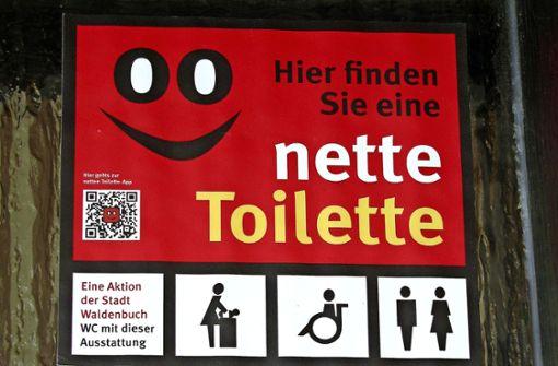 Bald soll es noch mehr nette Toiletten geben