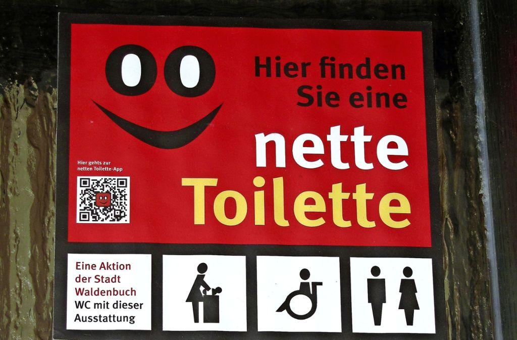 """In vielen Städten des Landes ist das Konzept """"nette Toilette"""" inzwischen etabliert. Foto: Claudia Barner"""