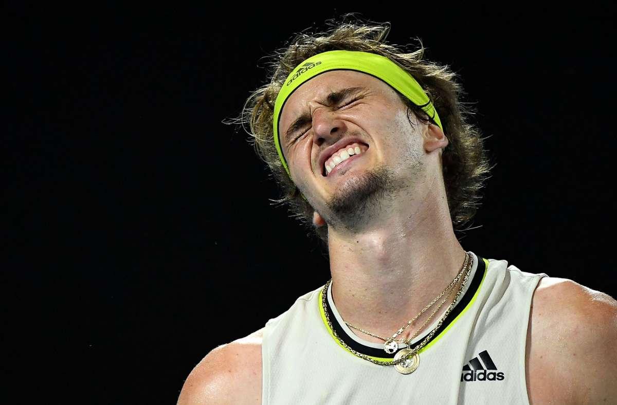 Tennis-Profi -Alexander Zverev. (Archivbild) Foto: AFP/WILLIAM WEST