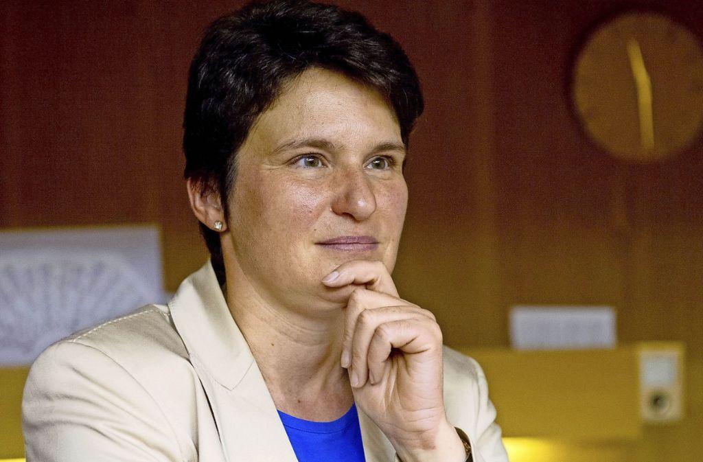 """""""Ich könnte mir kaum einen schöneren Job vorstellen"""", sagt die Chefin der Gesellschaft für internationale Zusammenarbeit, Tanja Gönner. Foto: dpa"""
