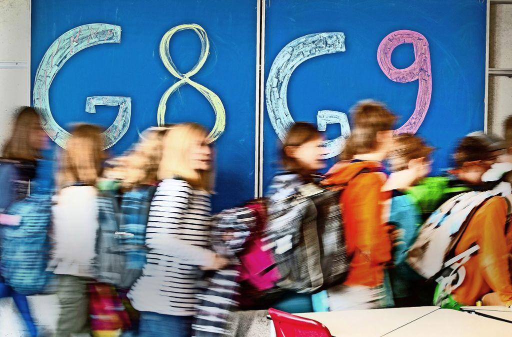 Am  Wilhelms-Gymnasium gibt es für die neuen Fünftklässler erstmals kein G8 mehr – mangels Nachfrage. Foto: picture alliance /