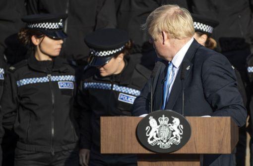 Britischer Premier witzelt über Schwächeanfall einer Polizeischülerin