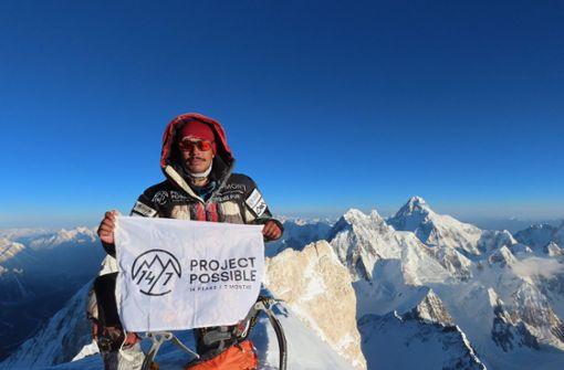 Dieser Bergsteiger schafft etwas Unglaubliches