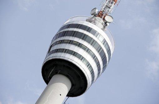 68 Plätze gibt es Panaromacafé des Fernsehturms. Foto: dpa