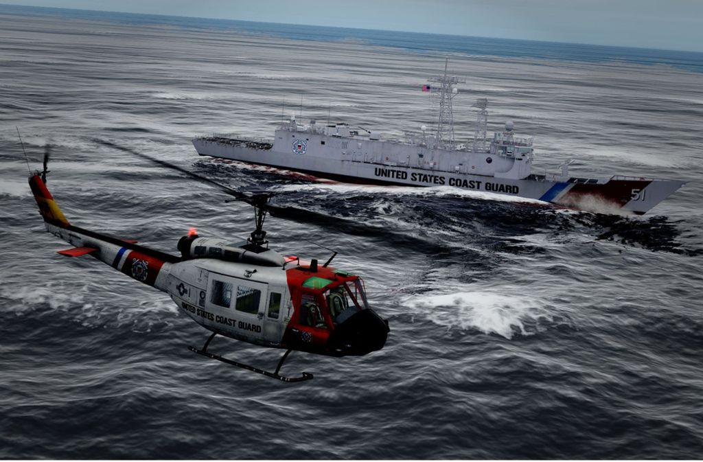 Die Landung auf einem schwankenden Deck ist knifflig – auch am PC. Foto: Screenshot DCS World/Phillip Weingand