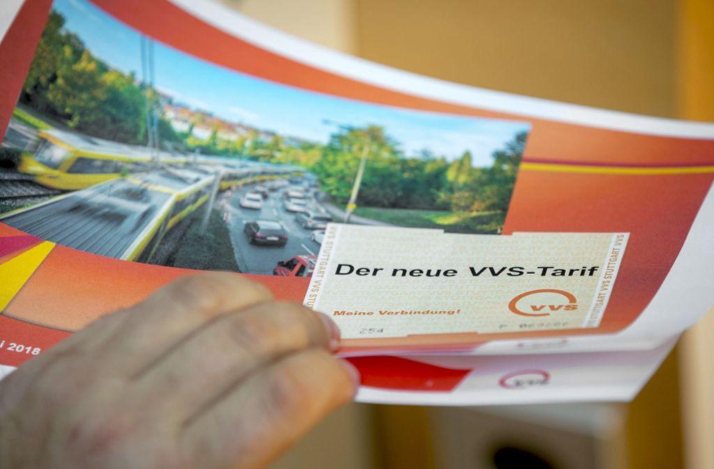 Seit 1. April gilt die Tarifzonenreform im VVS. Foto: /Lichtgut/Leif Piechowski