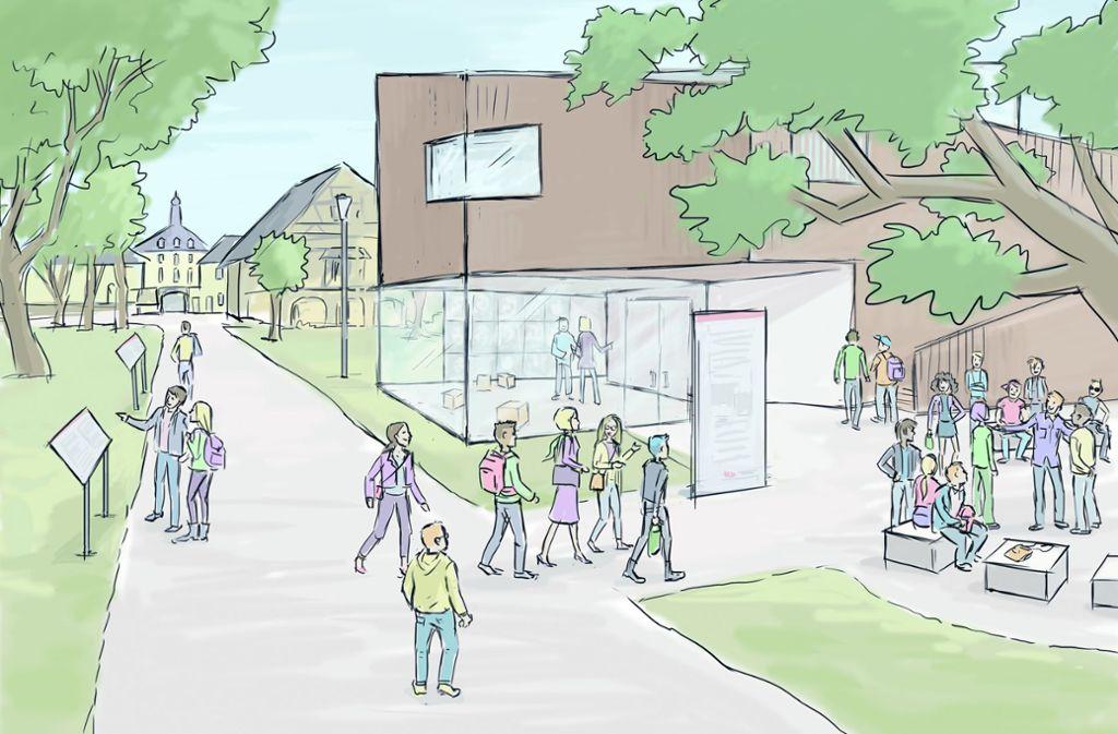 So könnte es künftig auf dem Gelände des ehemaligen Konzentrationslagers aussehen, wenn die Pläne für einen Lern- und Gedenkort Wirklichkeit werden. Foto: