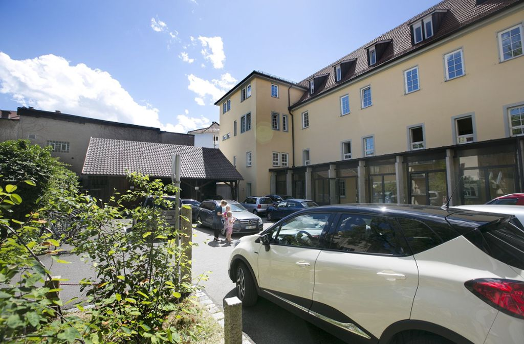 Der Neubau an der Küferstraße rückt näher. Foto: Horst Rudel