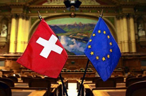 Schweiz soll mehr Farbe für  EU bekennen
