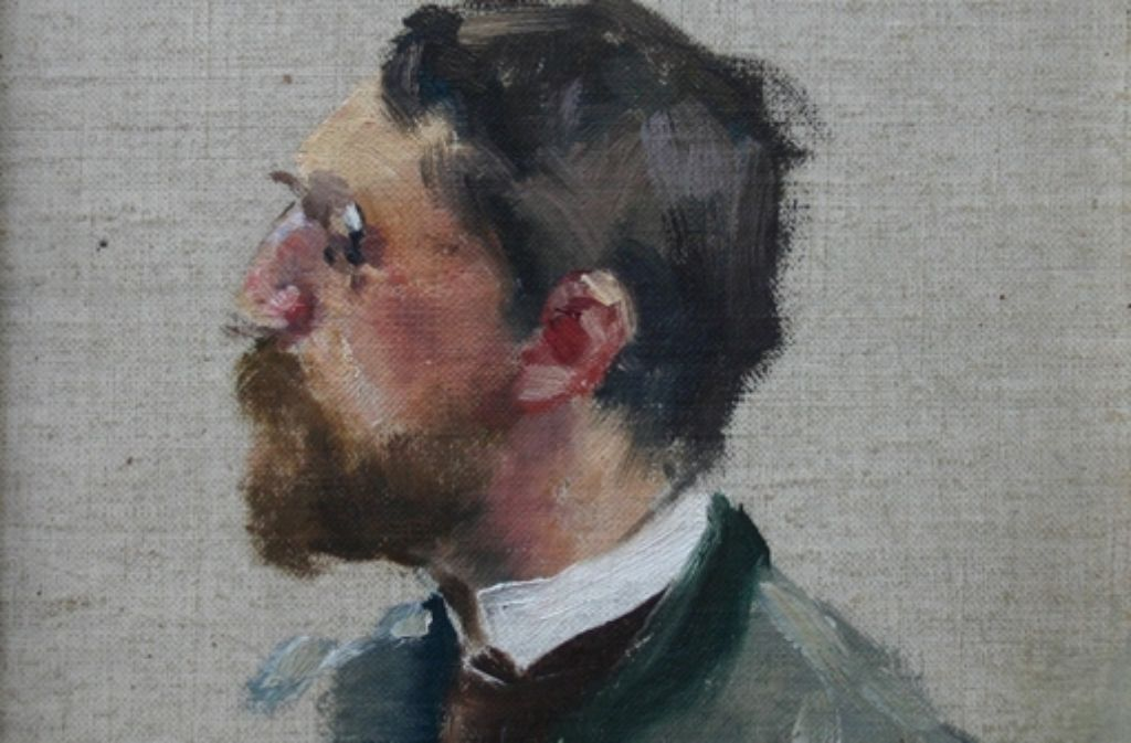 Der Künstler Adolf Hölzel  lebte bis zu seinem Tod in Degerloch. Foto: Archiv