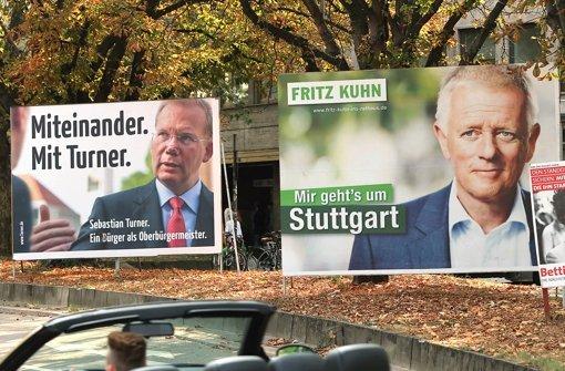 OB-Wahlkampf  viel  teurer als kalkuliert