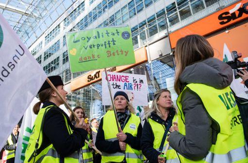 Streiken bald auch die Lufthansa-Töchter?