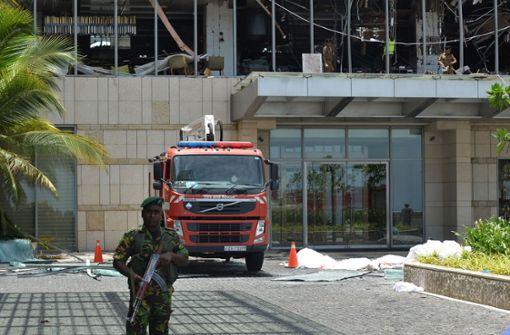 Weitere Explosion in Hotel in Sri Lanka