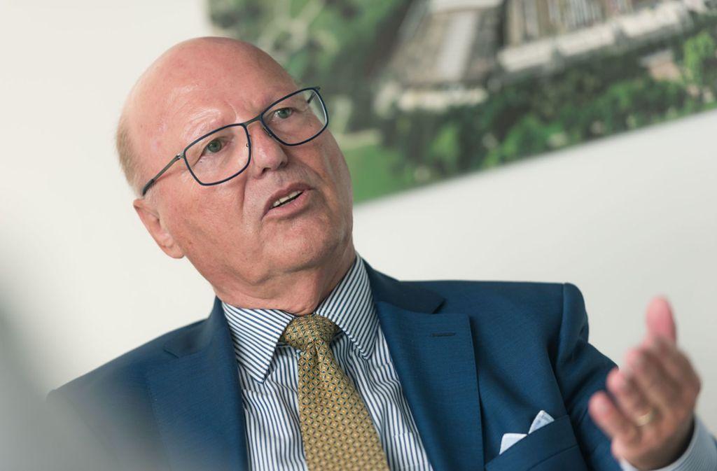 Georg Brunnhuber übt scharfe Kritik an Verkehrsminister Hermann. Foto: